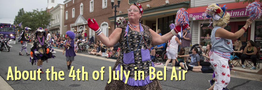 About July 4 in Bel Air